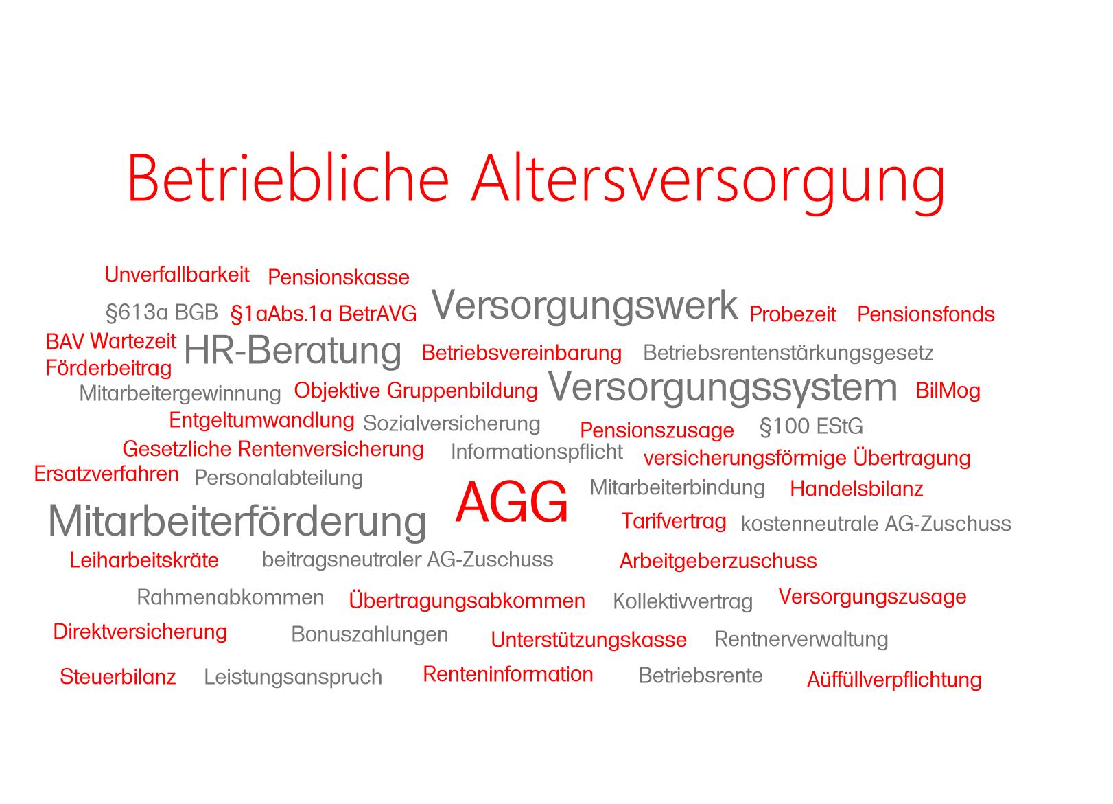 Was wünscht der deutsche Arbeitgeber und der Arbeitnehmer in der betrieblichen Altersversorgung? Wie kann der Arbeitgeber sein Personal besser binden?