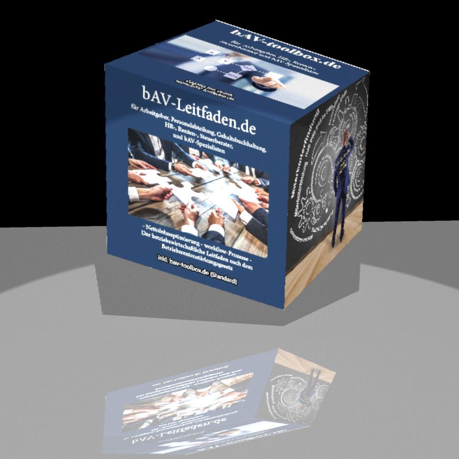 bAV-toolbox bAV-Leitfaden- betriebliche Altersversorgung Ordner-Der Leitfaden über die betriebliche Altersversorgung für Arbeitgeber, Personalabteilungen, HR und bAV-Berater