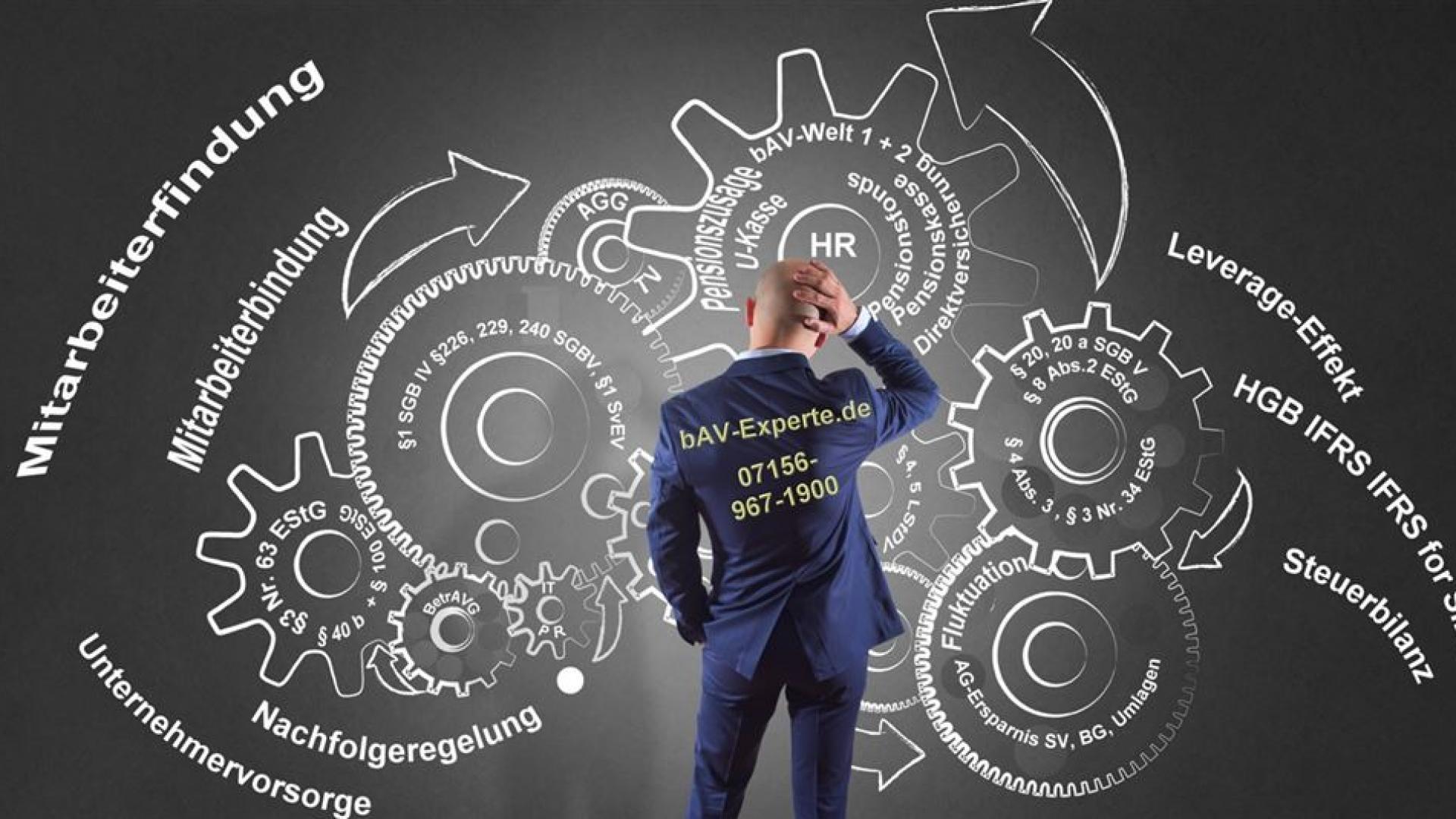 bAV-Experte sollte umfangreiches Knowhow in der betreiblichen Altersversorgung haben