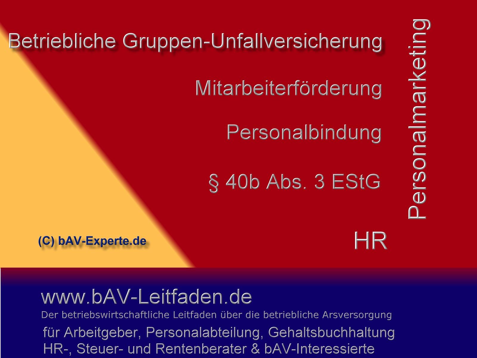 Gruppen-Unfallversicherung-bAV-Leitfaden