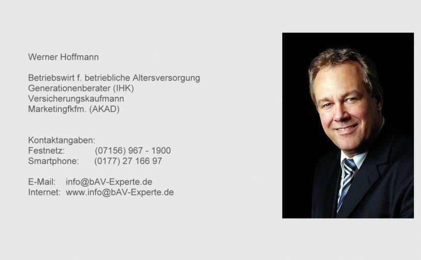 Betriebliche Altersversorgung – Eine Zweitmeinung hat noch nie geschadet!