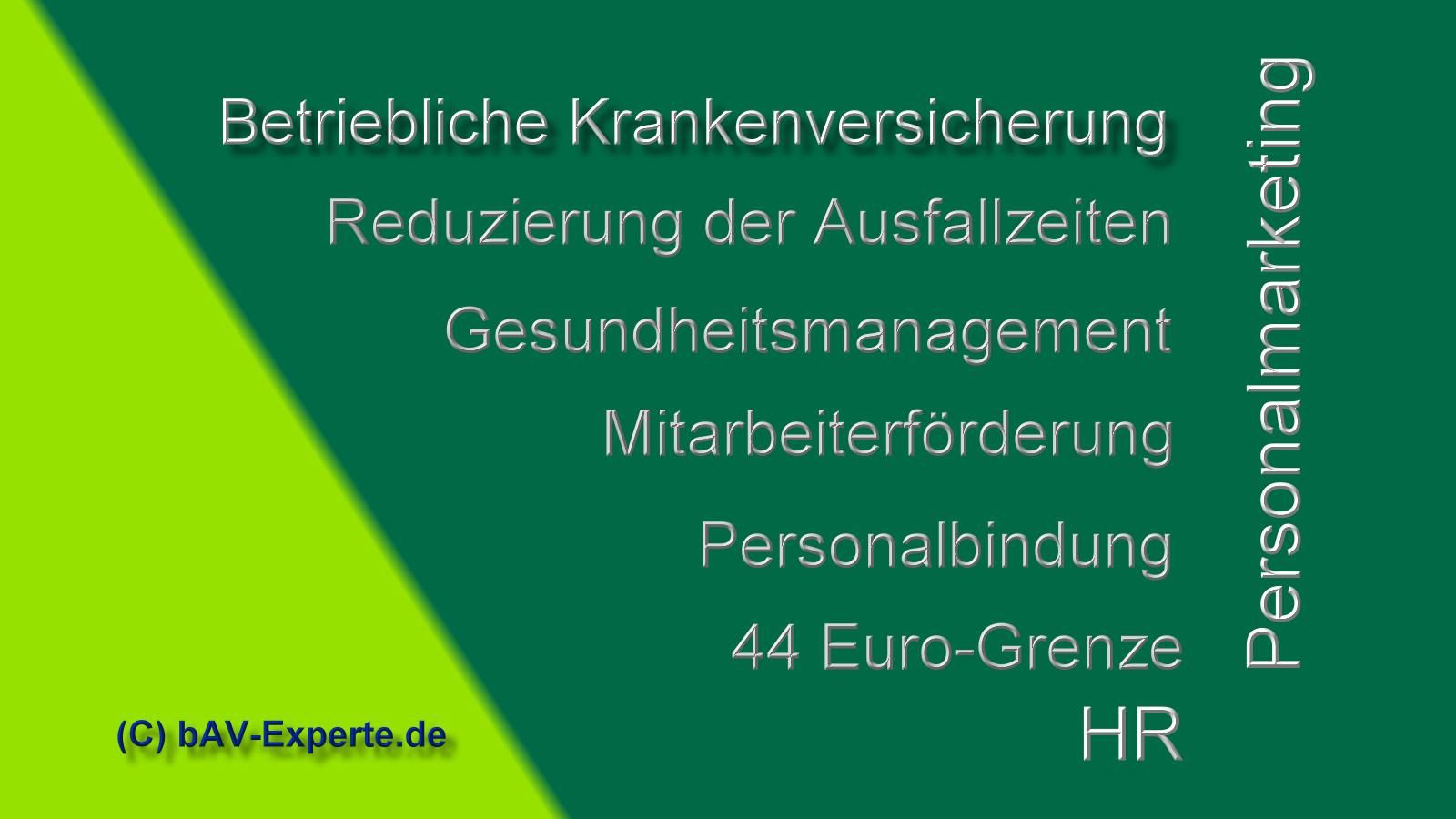 Betriebliche Krankenversicherung bAV-Experte.de