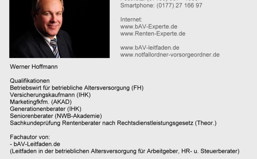 Friedrich Merz für Zwang zur Betriebsrente durch Arbeitgeber